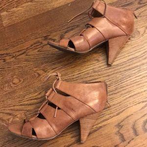 Reba Leather Booties
